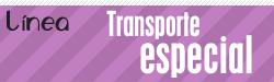 Línea transporte especial