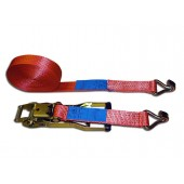 50 mm lashing strap with extra-long reversible ratchet